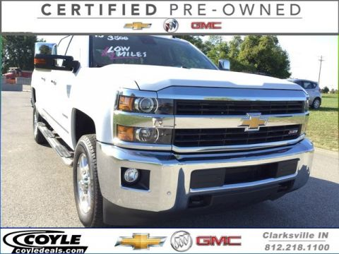Certified Used Chevrolet Silverado 3500HD LTZ