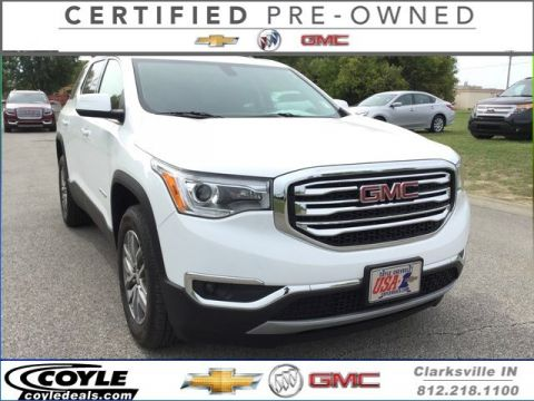 Certified Used GMC Acadia SLE