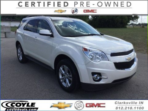 Certified Used Chevrolet Equinox LT