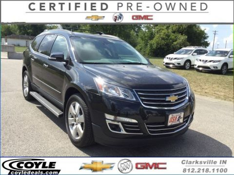 Certified Used Chevrolet Traverse LTZ