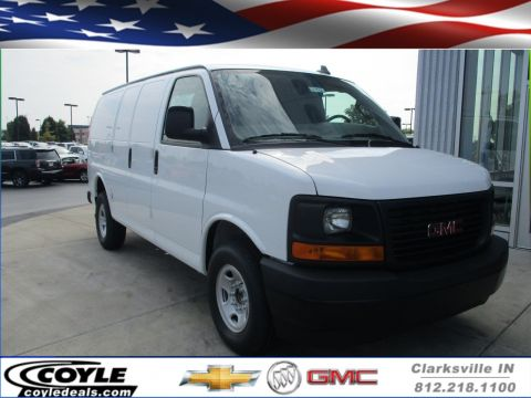 New GMC Savana Cargo Van Work Van