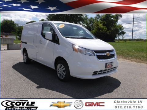 New Chevrolet City Express Cargo Van LS