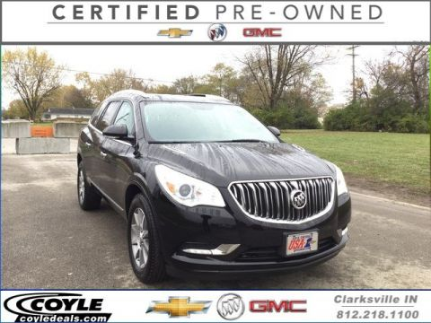 Certified Used Buick Enclave Leather