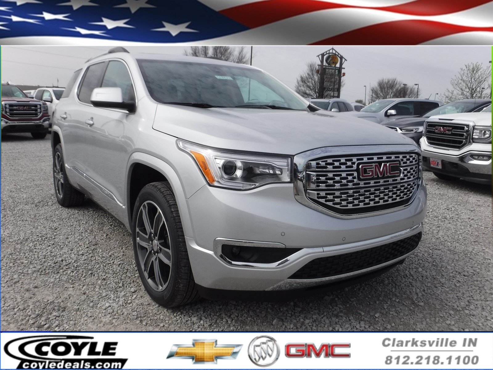 awd acadia cloud new denali inventory in gmc sport utility st
