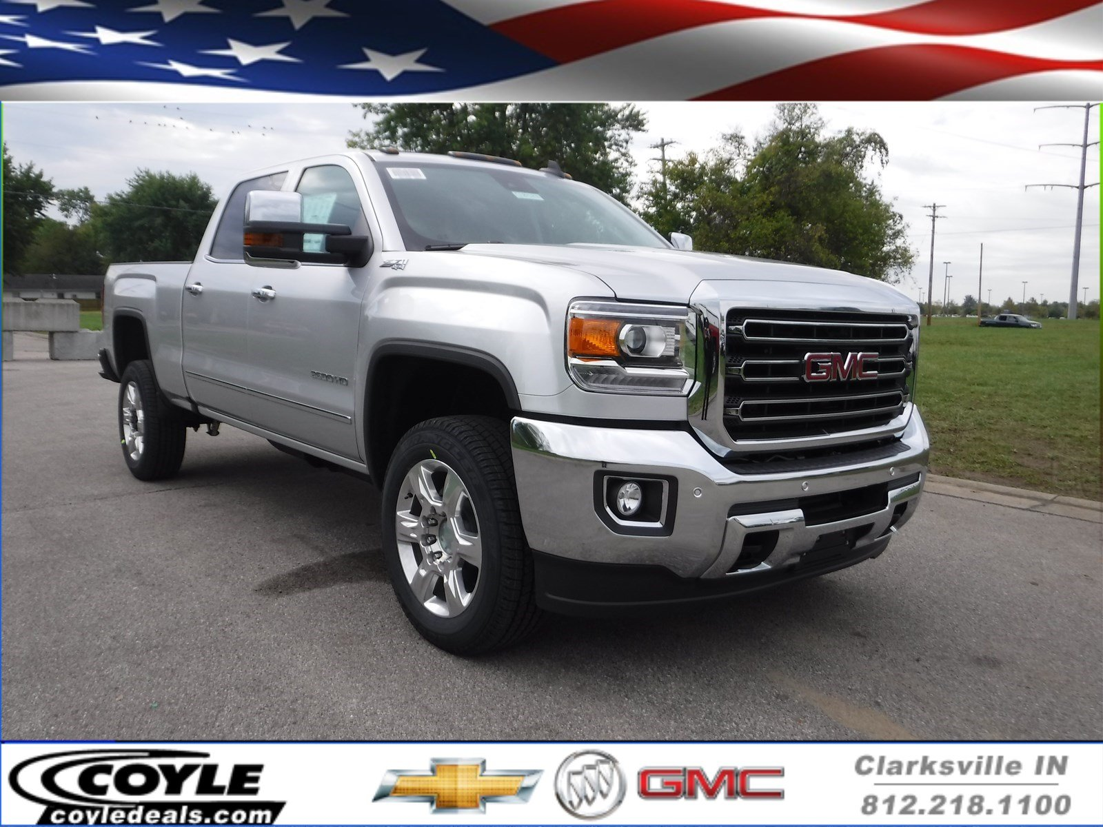 New 2018 Gmc Sierra 2500hd Slt Crew Cab Pickup In Clarksville