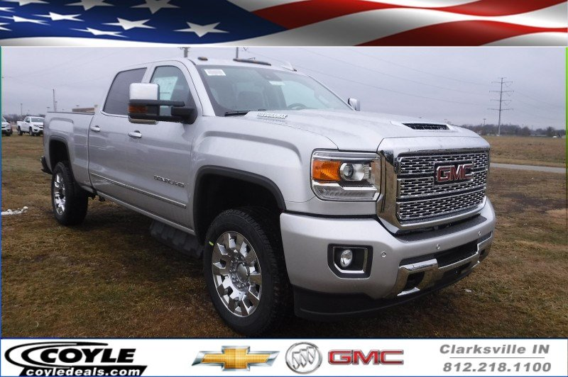 New 2018 Gmc Sierra 2500hd Denali Crew Cab Pickup In Clarksville